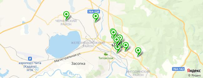 видеостудия на карте Читы