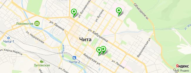 кадровое агентство на карте Читы
