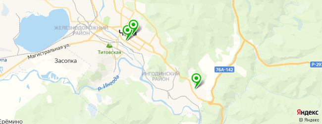 культурный центр на карте Читы