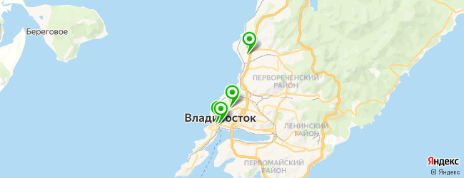 боди-арт салон на карте Владивостока