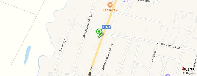 магазин грузовых запчастей на карте Михайловки