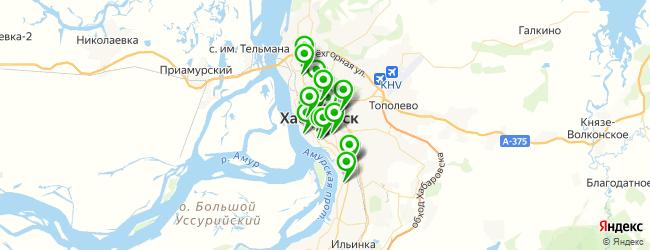 школа изучения иностранных языков на карте Хабаровска