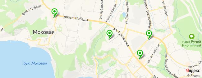 детский развлекательный центр на карте Петропавловска-Камчатского