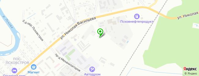 Автокомплекс Автопоинт — схема проезда на карте