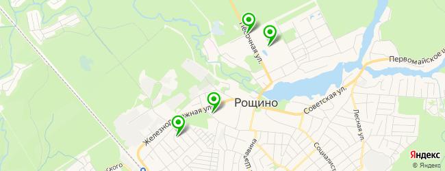 ресторан на карте Рощино