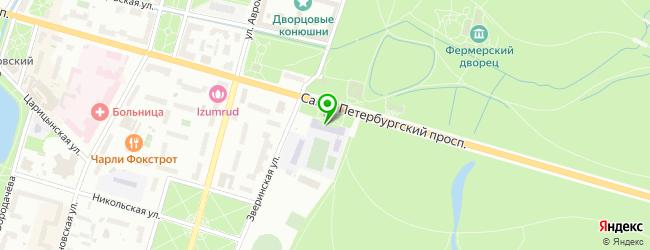 Средняя общеобразовательная школа №542 — схема проезда на карте