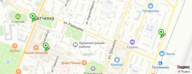 компьютерный клуб на карте Гатчины