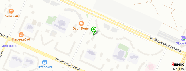 Медицинский центр АмикоЭстетик — схема проезда на карте