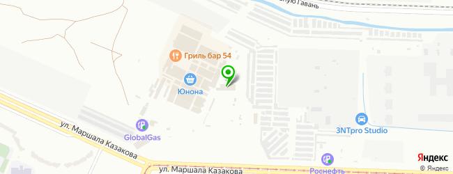 Сервисный Центр Электроники Юнона — схема проезда на карте