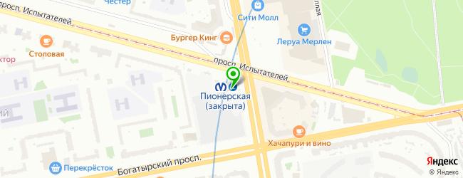 Магазин кофе на вынос CoffeeGo — схема проезда на карте