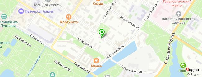 Сервис-центр Алмакс — схема проезда на карте