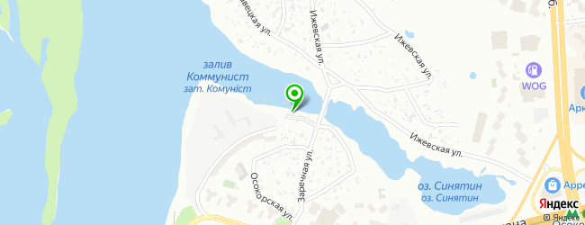 Русская баня на дровах Домик рыбака — схема проезда на карте
