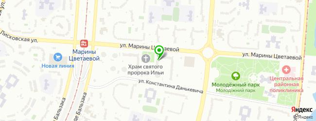 интернет-кафе на карте Броварей