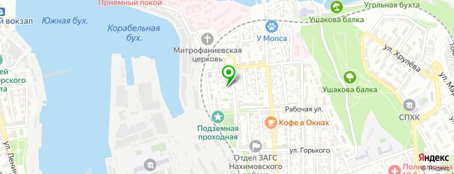 банкомат на карте Севастополя