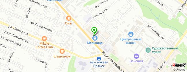 Леопицца — схема проезда на карте