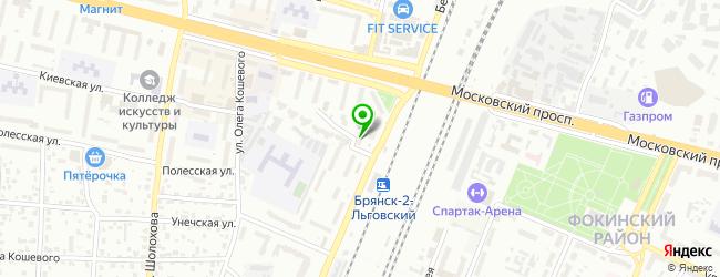 СПОРТ-БАР 12 ИГРОК — схема проезда на карте