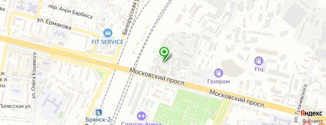 Кафе Ракета — схема проезда на карте