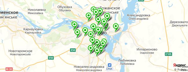 где купить лотерейные билеты на карте Дніпро