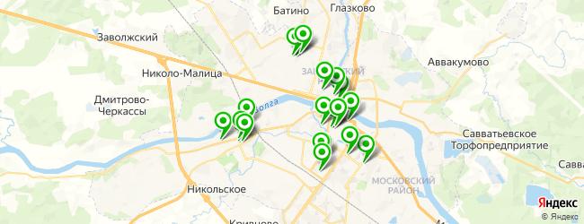 университеты на карте Твери