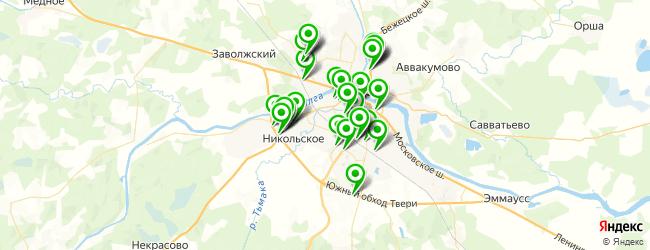 магазин грузовых запчастей на карте Твери
