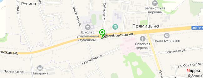 автосервис на карте Прямицыно