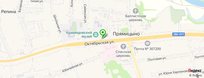 мебельная мастерская на карте Прямицыно