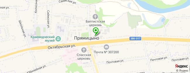 банкетный зал на карте Прямицыно