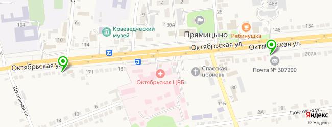 магазин запчастей на карте Прямицыно