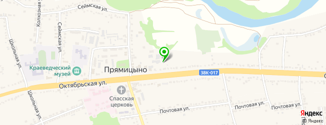 гранитная мастерская на карте Прямицыно