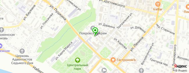 АКБ Транскапиталбанк — схема проезда на карте
