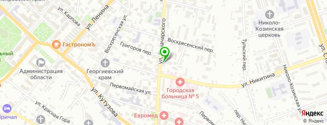 Внешпромбанк — схема проезда на карте