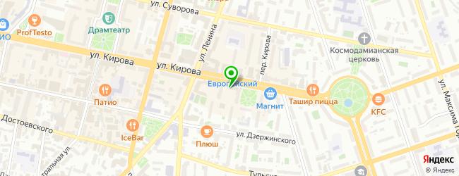 АКБ МОСОБЛБАНК — схема проезда на карте