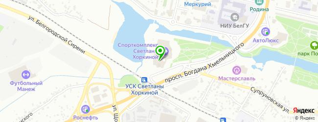 Танцевальная школа-студия Марины Дегтяревой MARIDANS — схема проезда на карте