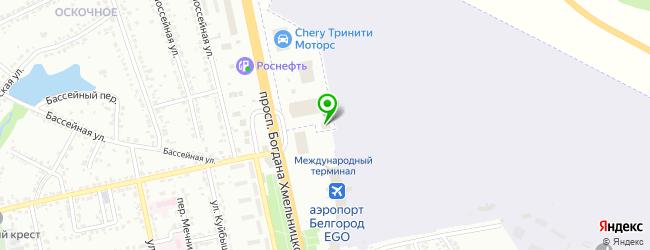 КЛЮЧАВТО-Select Белгород — схема проезда на карте