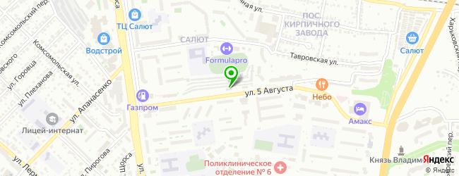 Автомоечный комплекс 777+ — схема проезда на карте