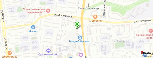 Кафе Veranda — схема проезда на карте