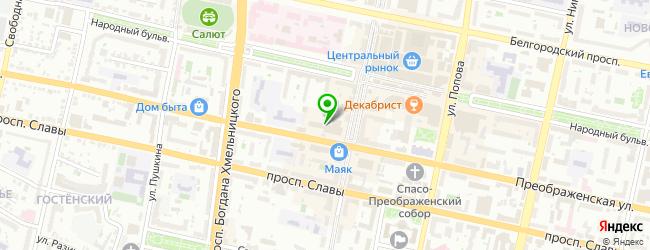 Кафе-клуб День и Ночь — схема проезда на карте