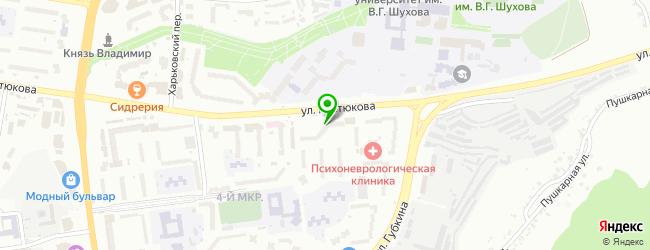 Кофейня КоМоД — схема проезда на карте