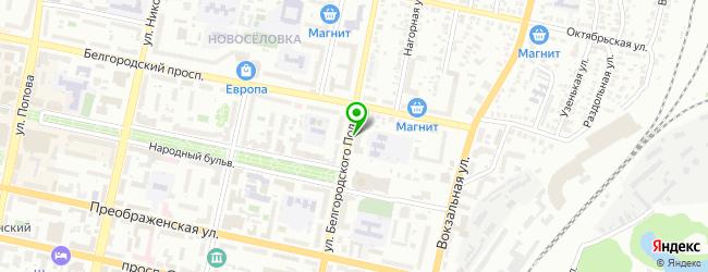 Кафе-пиццерия KooDoo — схема проезда на карте