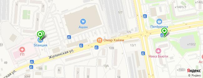 центр тонировки на карте Андреевки