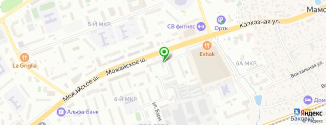 Банкомат Восточный экспресс банк — схема проезда на карте