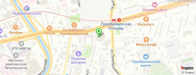 Starbucks — схема проезда на карте