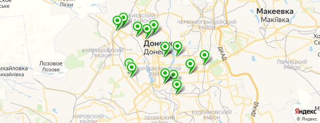 мотосалон на карте Донецька