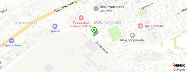Социально-досуговый центр КОНТАКТ — схема проезда на карте