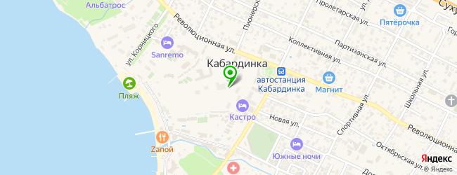 фотоателье на карте Кабардинки