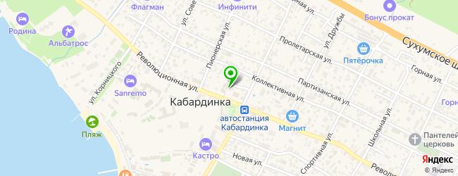 музеи на карте Кабардинки