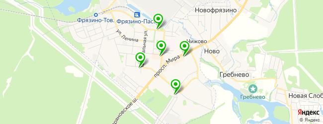 бар на карте Фрязино
