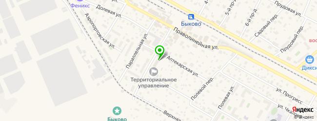 прачечная на карте Быково