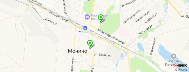 центр раннего развития на карте Монино