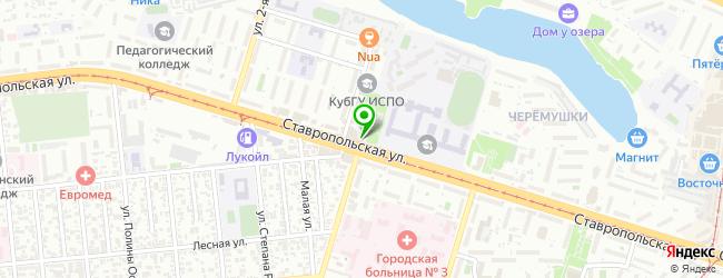 Кафе Bob — схема проезда на карте